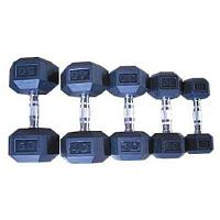 Гантельный ряд DB139 от 1 до 10 кг