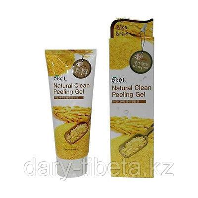 EKEL RICE BRAN NATURAL CLEAN PEELING GEL-Пилинг -Скатка с экстрактом Коричневого риса