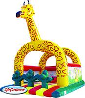 Надувной большой батут Жираф