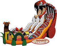 Надувной большой батут для детей Кобра