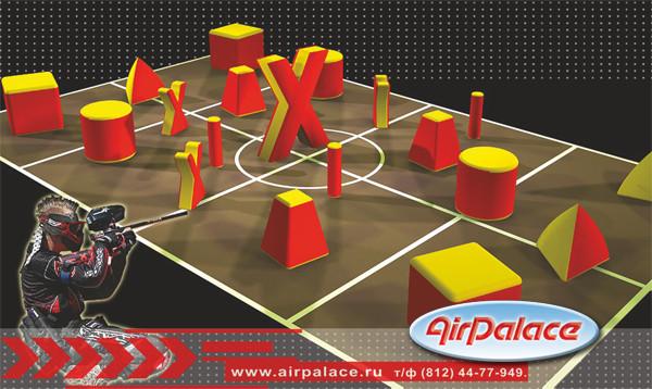 Мягкий набор для пейнтбола Азарт-19