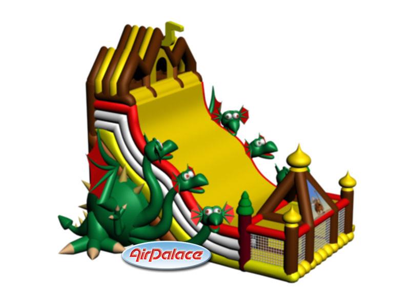 Надувная Гора Дракона - гарантия безопасности
