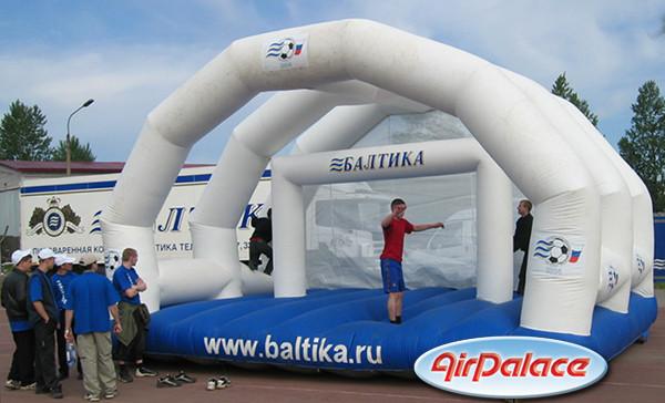 Аттракцион футбольные ворота «Балтика»