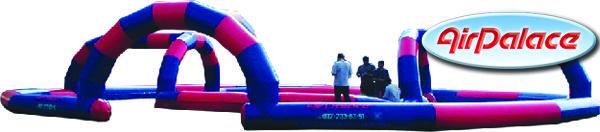 Надувной колизей для спортивных мероприятий