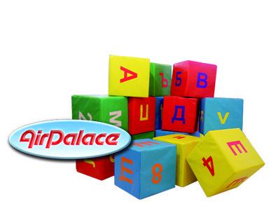 Учимся азбуке - мягкие кубики алфавит для детей