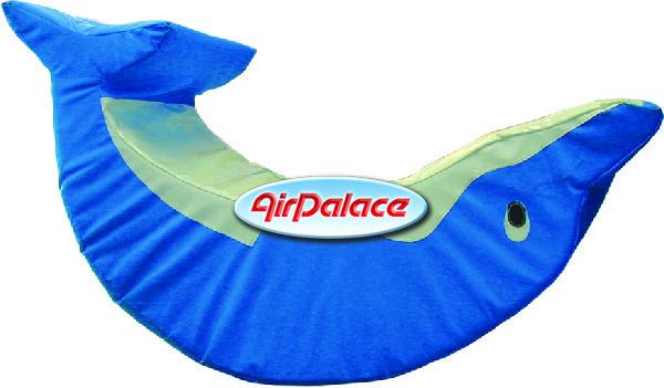 Дельфин - мягкая безопасная качалка для детей