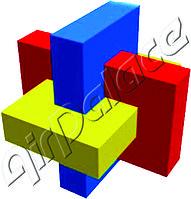 Косой узел - мягкая головоломка