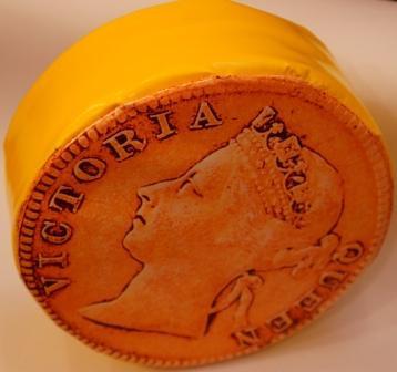 Монета - мягкий элемент для детской комнаты