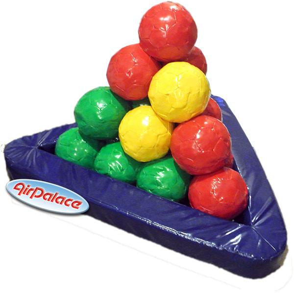 Пирамида из шаров - мягкая игровая конструкция