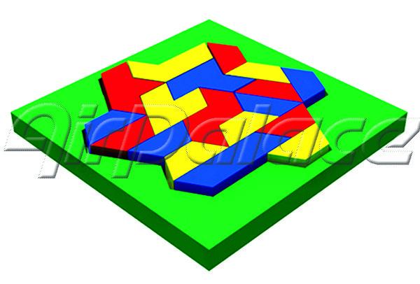 Ромбоид - мягкая детская головоломка
