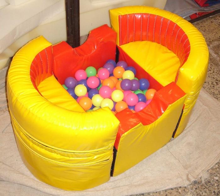 Сухой бассейн с шариками Лодочка-трансформер