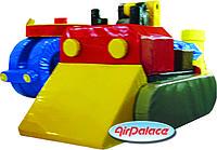 Трактор - мягкий безопасный детский