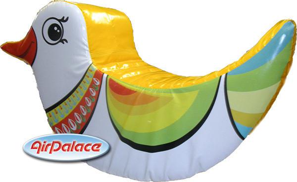 Уточка - мягкая безопасная качалка для детей
