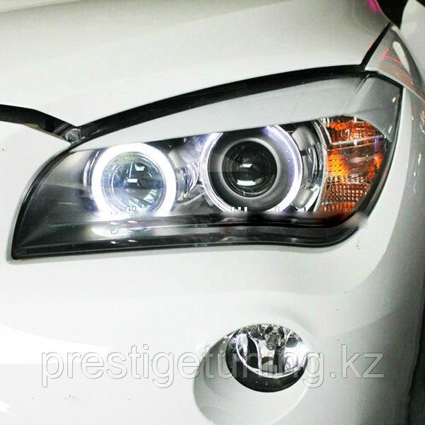 Передние фары BMW X1 E84 LED Strip Angel Eyes Head Light 2011-14