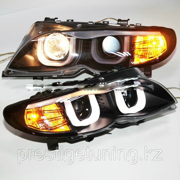 Передние фары E46 Angel Eyes 2001-2004