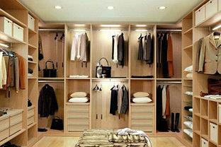 Гардеробные комнаты на заказ г. Алматы и Нур-Султан, фото 3