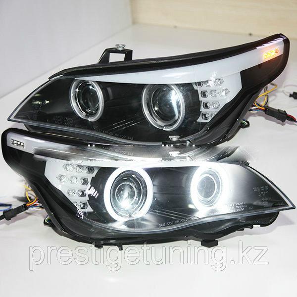 Передние фары E60 523i 525i 530i Head Light CCFL Angel Eyes 2003-2005