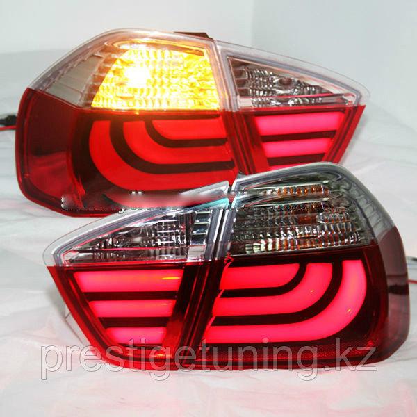 Задние фары E90 320i 323i 325 330 335 Red White 2005-08
