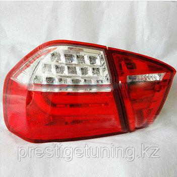 Задние фары 3 SERIES E90 4D Rear Lamp RED Clear 2005-2008
