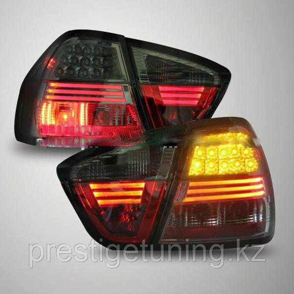 Задние фары E90 3 Series 320i 323i 325 330 335 LED Tail Lamp All Black V1 2007-09