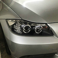 Передние фары E90 318i 320i 325i head Lamp Angel Eyes 2005 to 2008