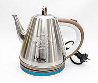 Электрический чайник MYLONG MY-1508, нержавеющая сталь, 1,5 л