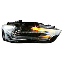 Передние фары A4L B9 LED Head Light with projector lens for Audi 2013-2014 Year
