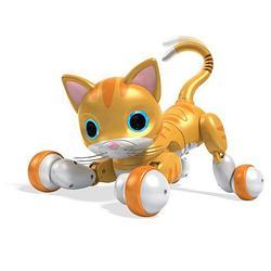 Zoomer Kitty - Интерактивная усатая кошка - Рыжий Табби (Английский язык)