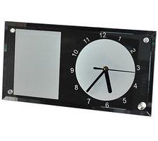 Часы стеклянные зеркальные для сублимации 230*150*5 mm