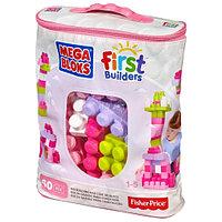 MegaBloks First Builders Розовый 60 дет