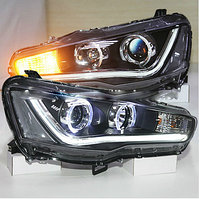Передние фары Lancer Angel Eyes Sonar Type 2 2008-2013