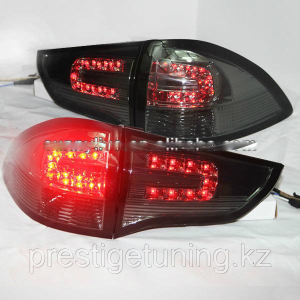 Задние фары Pajero Sport Smoke Black Color 2011-13