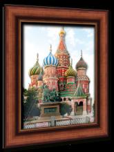 """Объемный постер """"Собор Василия Блаженного"""""""