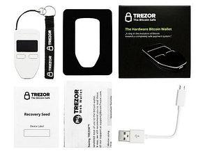 Аппаратный / холодный крипто - кошелек Trezor черный/белый, фото 3