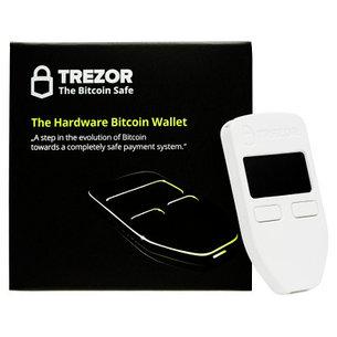 Аппаратный / холодный крипто - кошелек Trezor черный/белый, фото 2