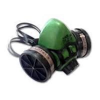 """Полумаска STAYER """"MASTER"""" фильтрующая противогазная, в комплекте с фильтрами А1"""