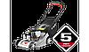 """Газонокосилка ЗУБР """"МАСТЕР"""" бензиновая, 400мм, 141см3, 3000об/мин, 2.9кВт, 5 ступ. кош. (25-75мм) травосб. 50л"""
