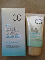 Welcos Color Change blemish balm SPF 25 CC-Крем -Основа под макияж СС