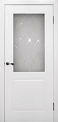 """Дверь  """"Бриз"""" Эмаль белая"""