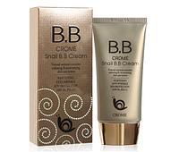 Сrome Snail BB Cream -Улиточный ВВ крем для лица