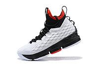 """Баскетбольные кроссовки Nike Lebron 15 (XV) from LeBron James """"white /black"""""""