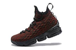 "Баскетбольные кроссовки Nike Lebron 15 (XV) from LeBron James  ""black/red"", фото 2"