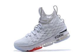 """Баскетбольные кроссовки Nike Lebron 15 (XV) from LeBron James """"White"""""""
