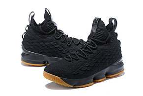 "Баскетбольные кроссовки Nike Lebron 15 (XV) from LeBron James ""Black"", фото 2"