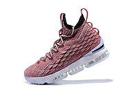 "Баскетбольные кроссовки Nike Lebron 15 (XV) from LeBron James ""dark pink"""