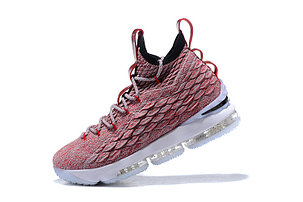 "Баскетбольные кроссовки Nike Lebron 15 (XV) from LeBron James ""dark pink"", фото 2"