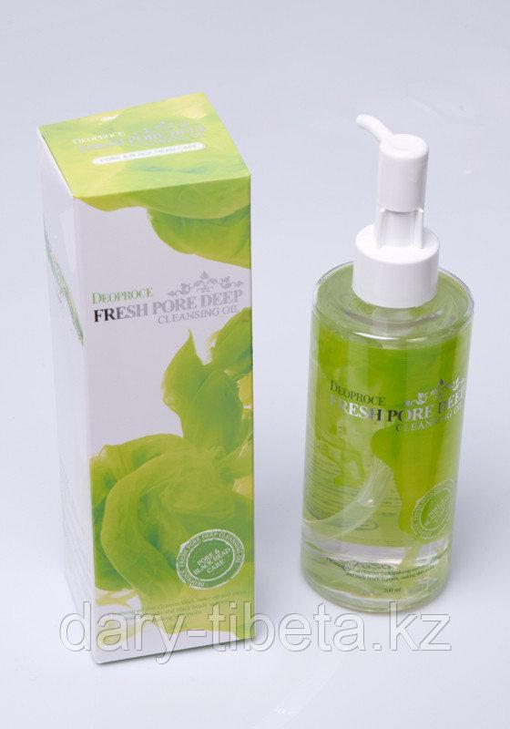 DEOPROCE fresh pore deep cleansing oil-Гидрофильное масло для глубокого очищения пор.Виноградное.