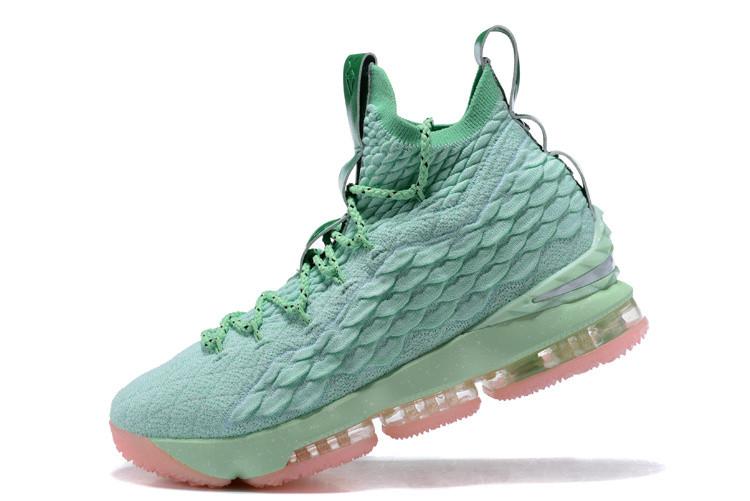 """Баскетбольные кроссовки Nike Lebron 15 (XV) from LeBron James """"Aqua"""""""
