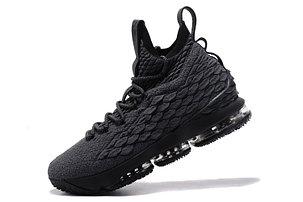 "Баскетбольные кроссовки Nike Lebron 15 (XV) from LeBron James ""Dark Gray"", фото 2"