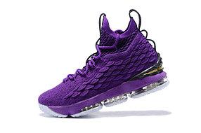 "Баскетбольные кроссовки Nike Lebron 15 (XV) from LeBron James ""Purple"""